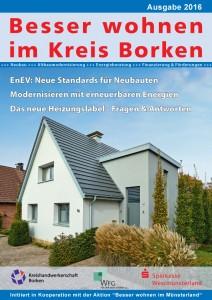 """Der Bauratgeber """"Besser wohnen im Kreis Borken""""."""