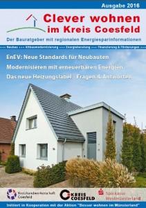 """Der Bauratgeber """"Clever wohnen im Kreis Coesfeld""""."""