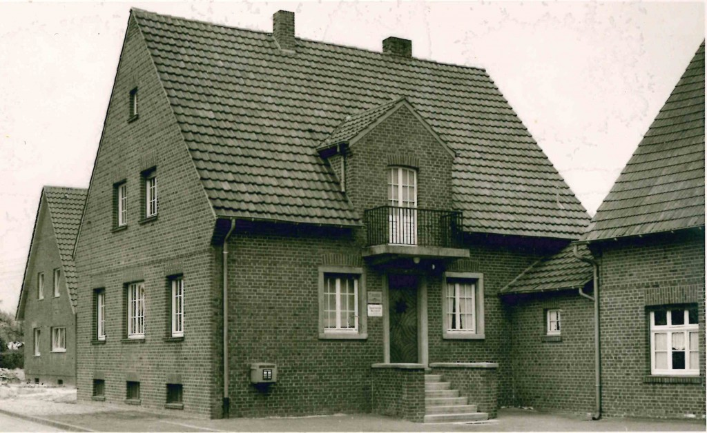 Die Hauptzweigstelle Buldern im Jahre 1961.