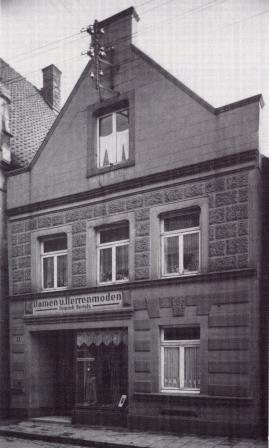 Die ersten Räumlichkeiten im Jahr 1866