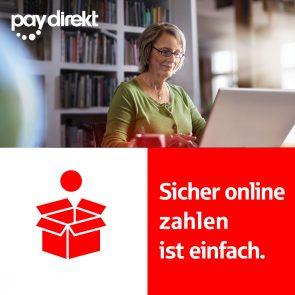 Sicher online zahlen ist einfach.