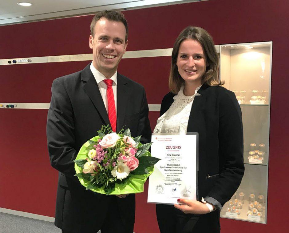 Erfolg für Nina Klüsener