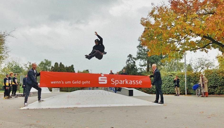Miniramp für Borkener Skater
