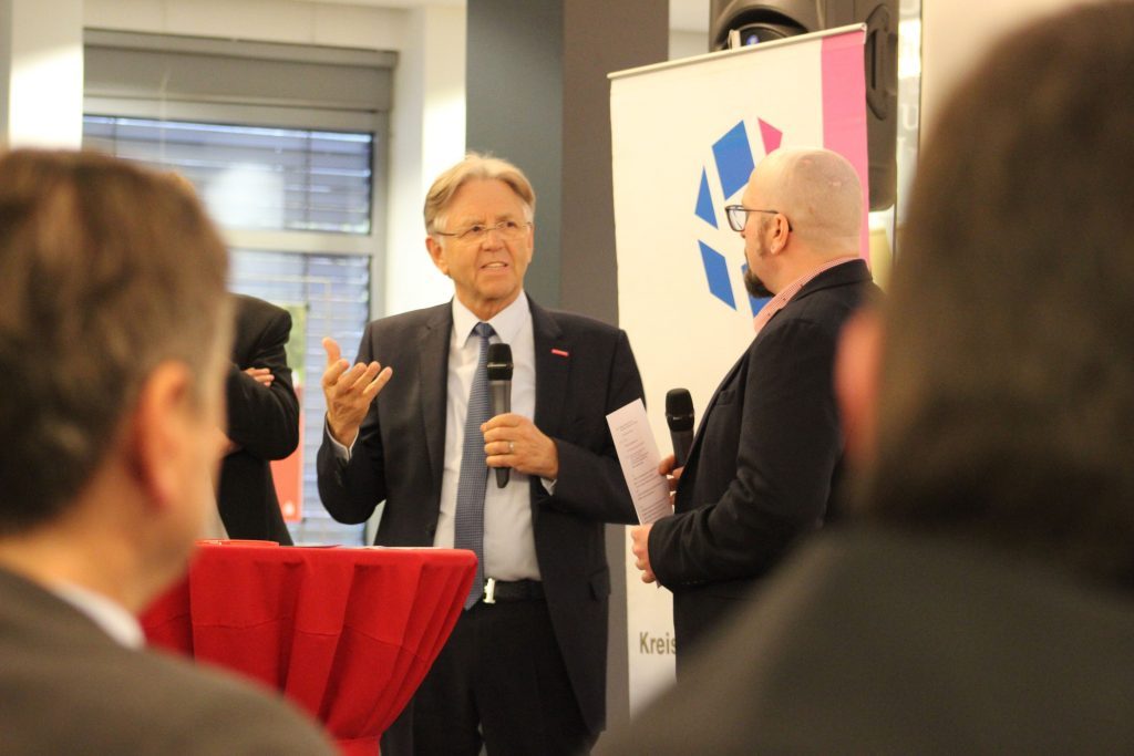 Außerdem als Ehrengast anwesend war Hans Hund, Präsident der Handwerkskammer Münster.