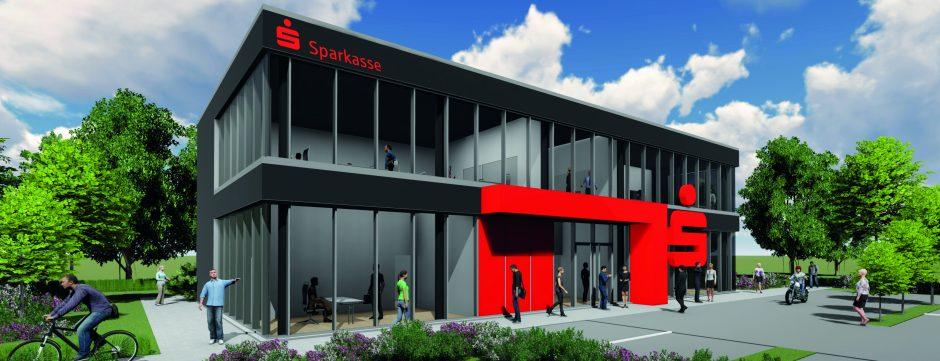 """Eröffnung des Sparkassen-Beratungscenters """"Hovesath"""" am 6. Oktober"""