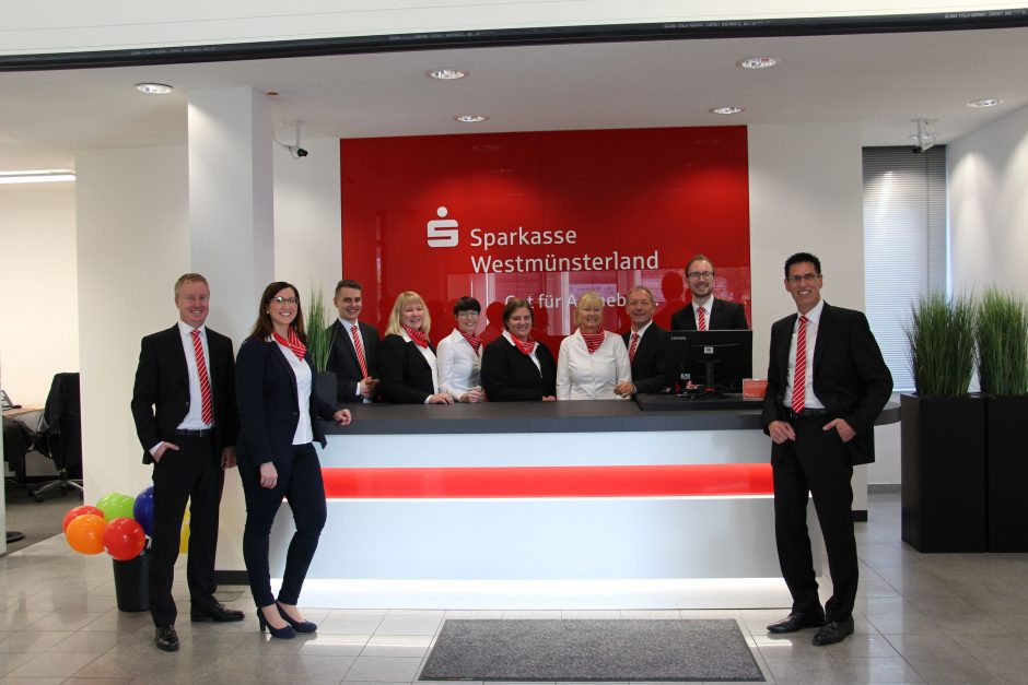 Sparkasse modernisiert Beratungscenter Ascheberg
