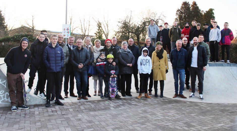 Gemeinschaft der Borkener Skater freut sich über Miniramp