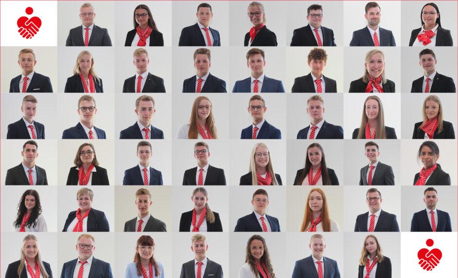 47 junge Frauen und Männer beginnen ihre Ausbildung bei der Sparkasse